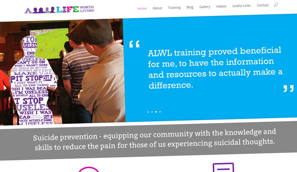 Launch of www.alifeworthliving.org.uk
